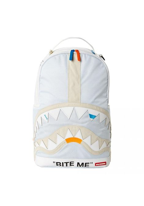 White backpack bite me SPRAYGROUND | Bags | 910B2289NSZ1