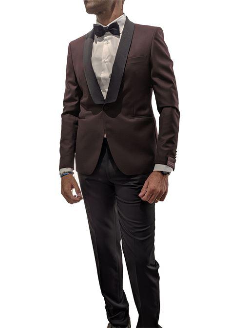Tagliatore burgundy tuxedo suit TAGLIATORE | Dresses | 06UEZ297/KFSPC1165