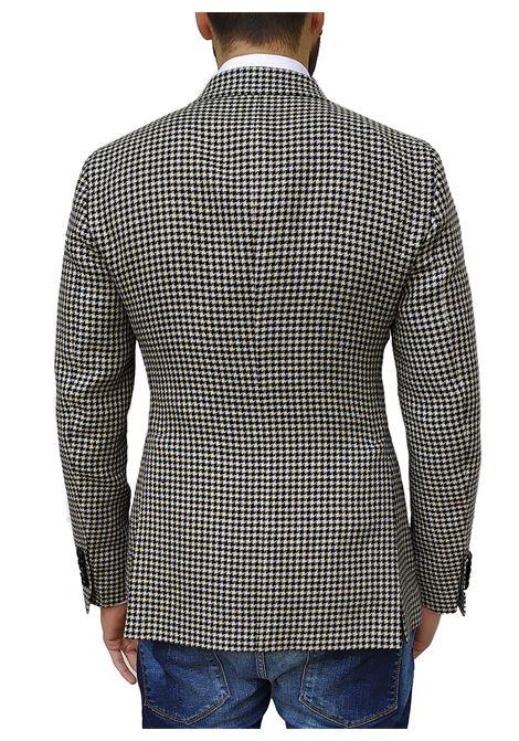 Tagliatore Pino Lerario blazer linen pied de poule TAGLIATORE   Blazers   34FEG202/G-PLN1367