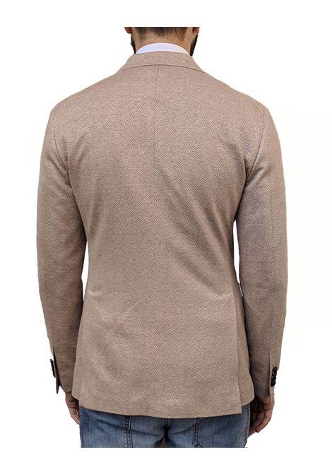 Tagliatore men blazer beige jersey linen TAGLIATORE | Blazers | 57ZEJ166/1SMT1448