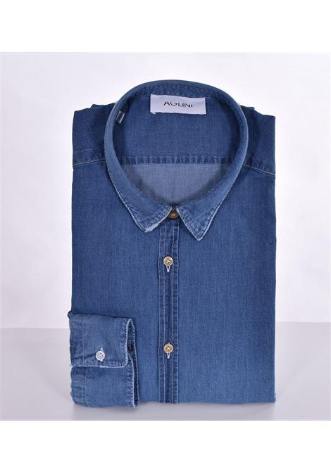 Camicia Aglini jeans mario AGLINI | Camicie | 6205200010