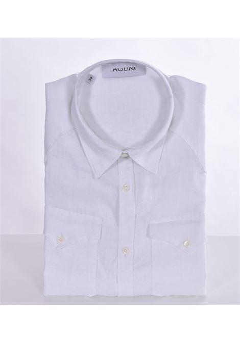 Camicia Aglini mario arkansas lino AGLINI | Camicie | 6205901010