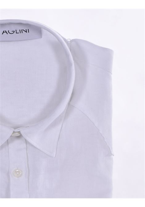 Aglini mario arkansas linen shirt AGLINI   Shirts   6205901010