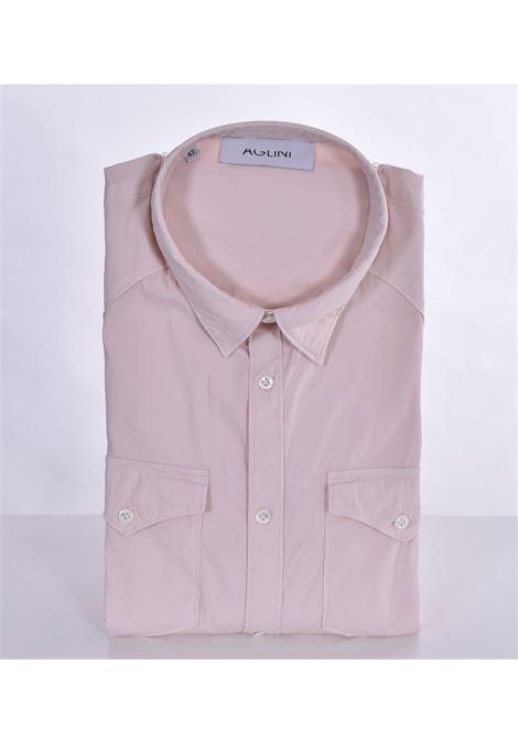 Aglini mario arkansas sand shirt AGLINI | Shirts | F1078301