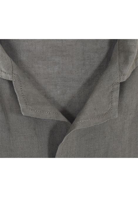 Camicia Bagutta mezza manica lino verdei maui BAGUTTA | 11028062