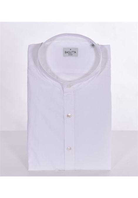 Camicia Bagutta ncannes coreana bianca BAGUTTA | Camicie | 11041001