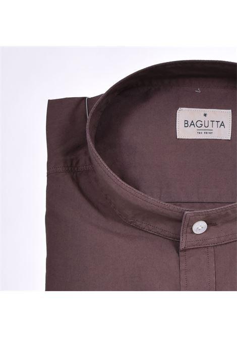 Camicia Bagutta coreana marrone BAGUTTA | Camicie | 11041070