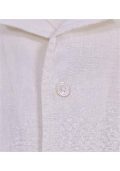 Bagutta white linen johnny shirt BAGUTTA | Shirts | 11124010