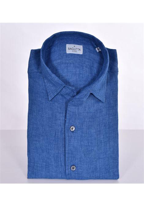 Camicia Bagutta lino johnny BAGUTTA | Camicie | 11124050
