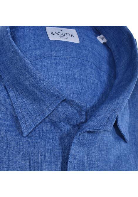 Bagutta linen johnny shirt BAGUTTA | Shirts | 11124050