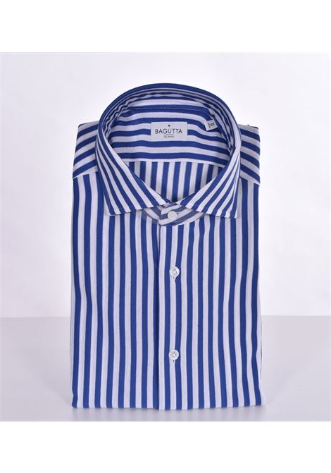 Camicia Bagutta walter bianco blu BAGUTTA | Camicie | 11265250