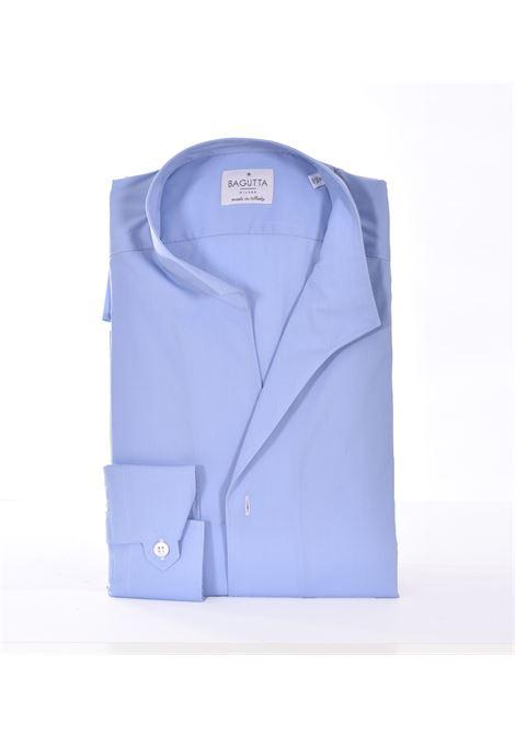 Light blue Korean Bagutta bruxelles shirt BAGUTTA | Shirts | CN9672052