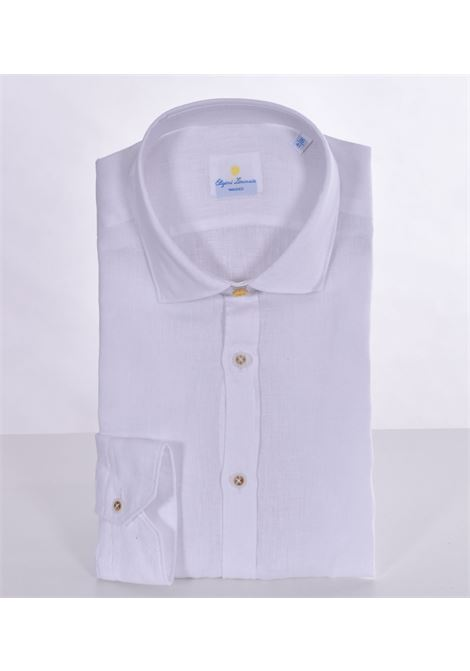 Barbati limonaia washed white linen shirt BARBATI | Shirts | 01472
