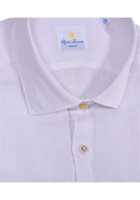 Barbati limonaia washed white linen shirt BARBATI | Shirts | 01472