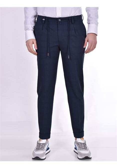 Barbati Gregory blue checked trousers BARBATI | Trousers | 12196101