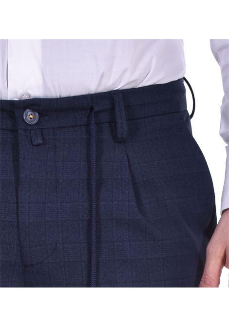 Barbati Gregory blue checked trousers BARBATI | 12196101