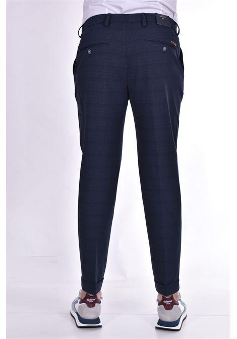 Barbati Gregory blue checked trousers BARBATI   Trousers   12196101