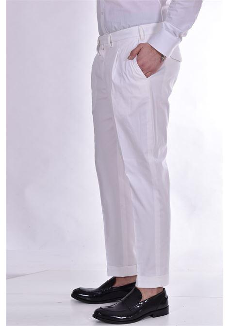 Pantalone Barbati dodo cinturino bianco BARBATI | 39102