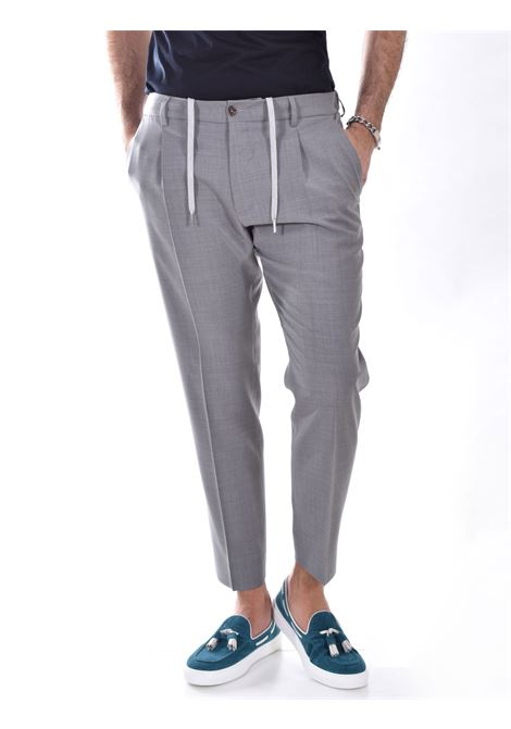 Be Able Riccardo gray trousers BE ABLE | Trousers | CC ET01