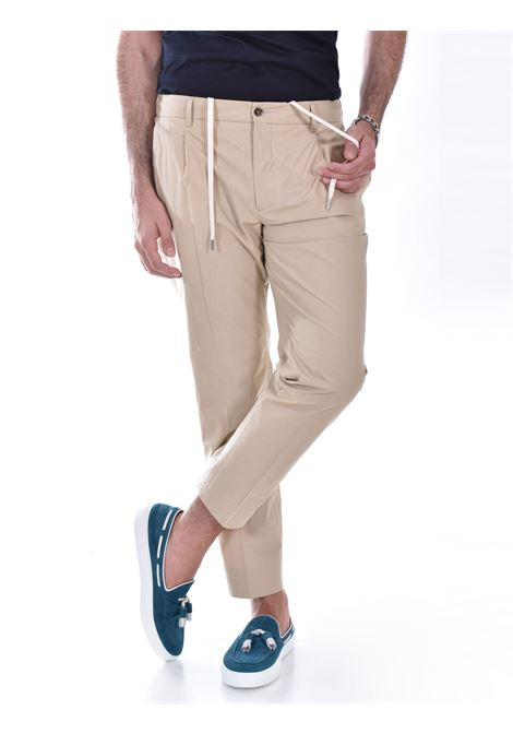 Be Able Riccardo beige trousers BE ABLE | Trousers | CC STSC25