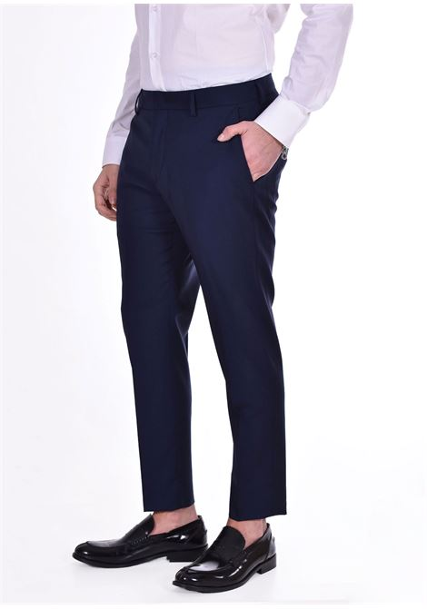 Be Able Alexander Shorter navy blue trousers BE ABLE | Trousers | ET10