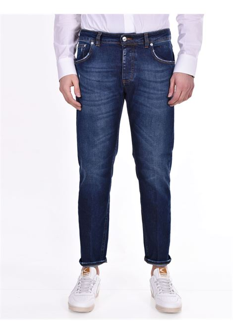 Dark blue davis shorter jeans BE ABLE | Jeans | GKC1506