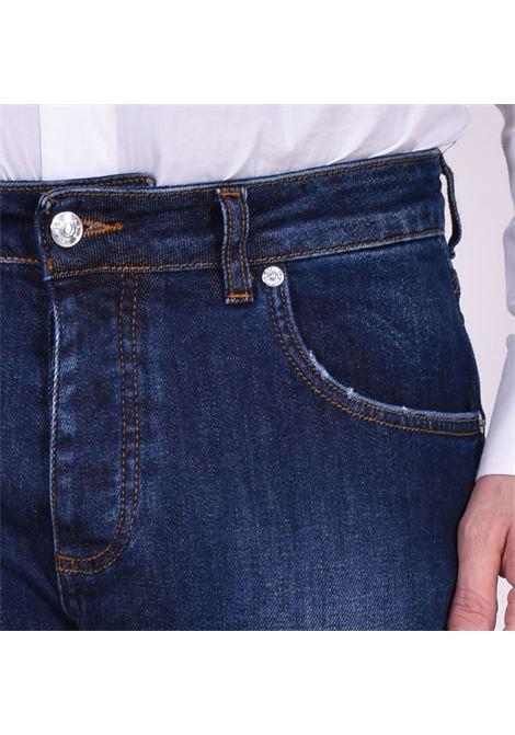 Jeans davis shorter blu scuro BE ABLE | GKC1506