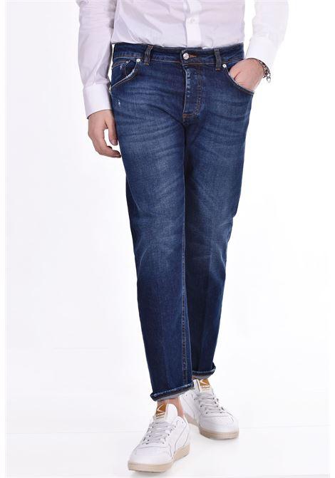 Jeans davis shorter blu scuro BE ABLE | Jeans | GKC1506