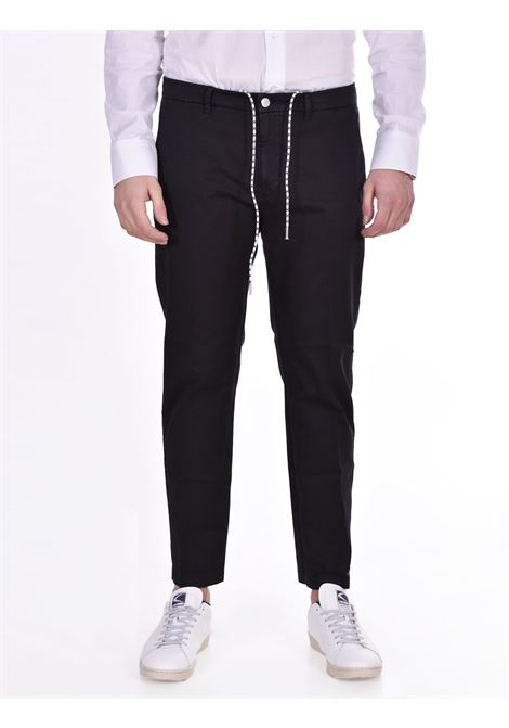 Pantalone Be Able coulisse nero BE ABLE | Pantaloni | GS01