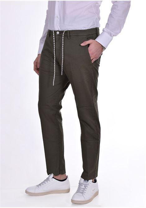 Pantalone Be Able Mike shorter verde BE ABLE | Pantaloni | GS20