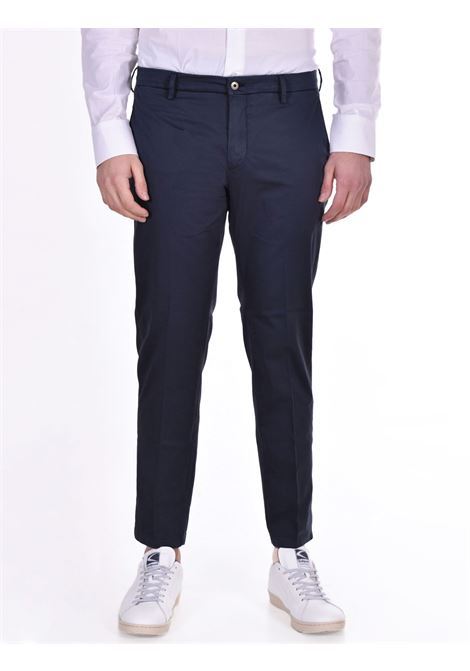 Pantalone Be Able tinto in capo alexander shorter blu BE ABLE | Pantaloni | RS10