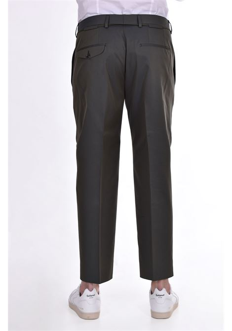 Be Able Edoardo military green trousers BE ABLE | Trousers | SCR10