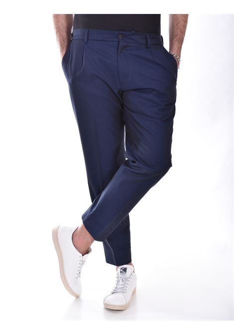 Be Able riccardo royal blue trousers BE ABLE | Trousers | SCRS2101