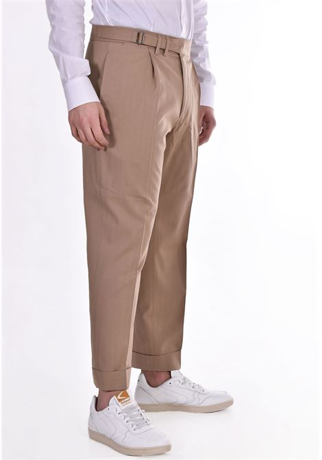 Pantalone Be Able george pinces beige BE ABLE | Pantaloni | STM1