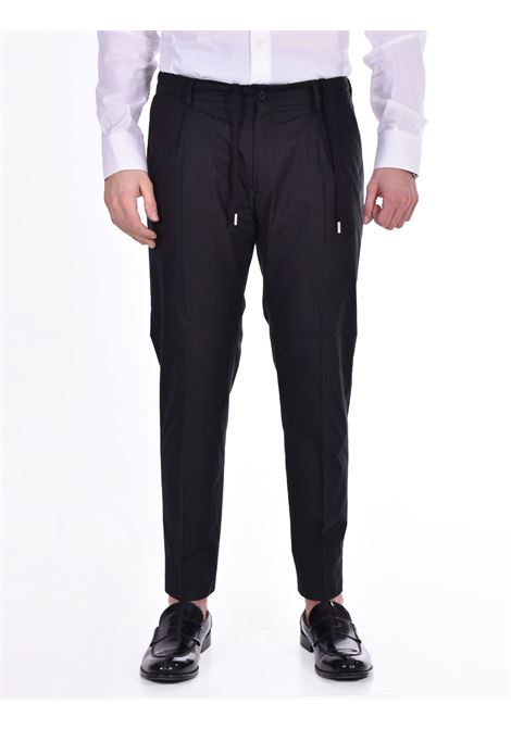 Pantalone Be Able Riccardo nero BE ABLE | Pantaloni | STSC99