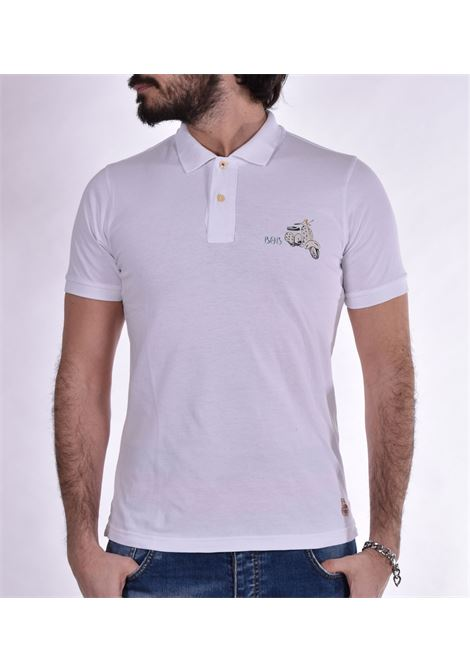 Vespa BoB Back polo shirt BOB | polo | BACKDS29