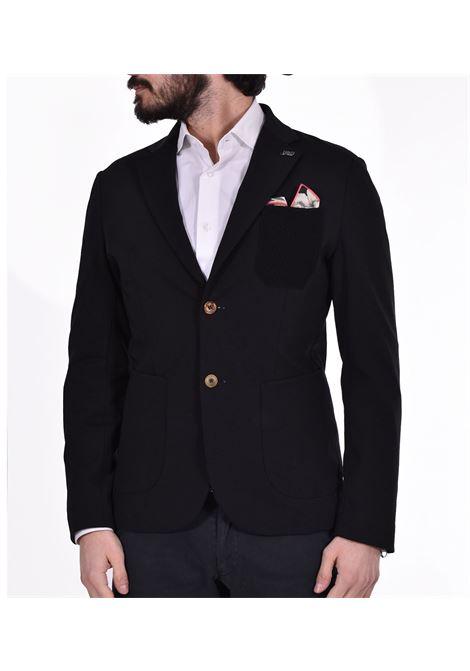 Bob domi black jacket with pocket BOB | Blazers | DOMI02