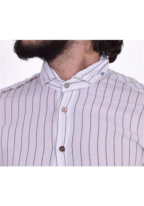 Camicia BoB bianca blu lop BOB | Camicie | LOP01