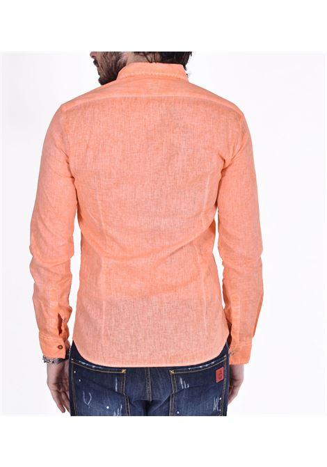 Camicia BoB lino arancio lop BOB | Camicie | LOP45001