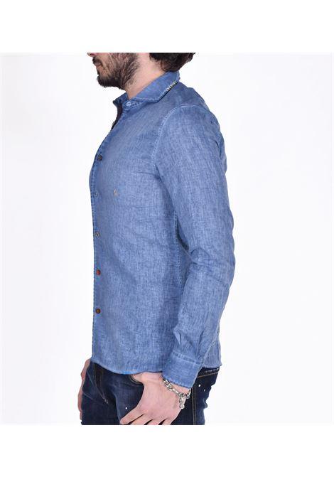 Camicia BoB lino blu royal lop BOB | Camicie | LOP45002
