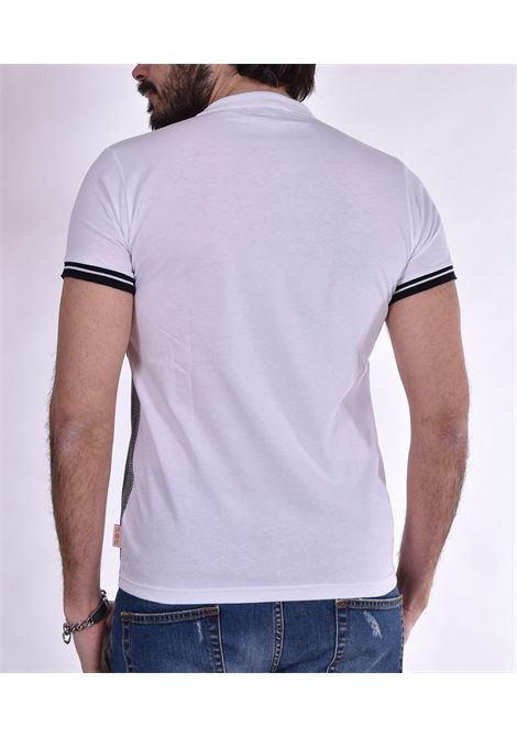 BoB picket blue jersey polo shirt BOB | PICKET01