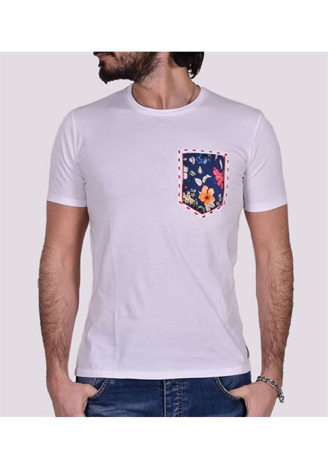 BoB Pocket Pocket T-Shirt white BOB | T-shirts | POCKET01
