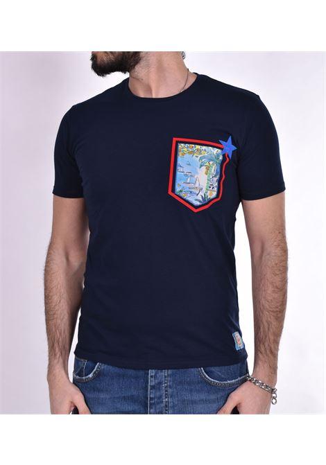 T-shirt BoB pochet taschino blu BOB | T-shirt | POCKETVR20
