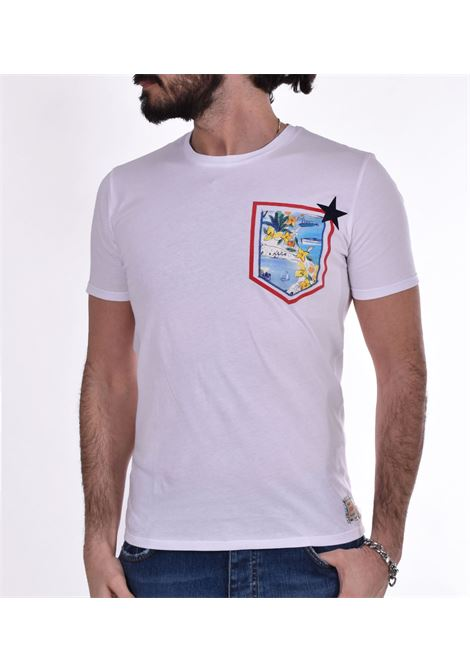 T-shirt BoB pochet taschino bianco BOB | T-shirt | POCKETVR25