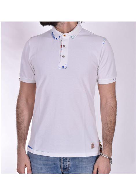 BoB Ricky white polo shirt BOB | polo | RICKY RO2001