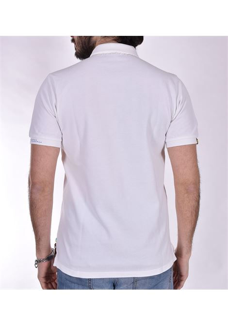 BoB Ricky white polo shirt BOB   polo   RICKY RO2001