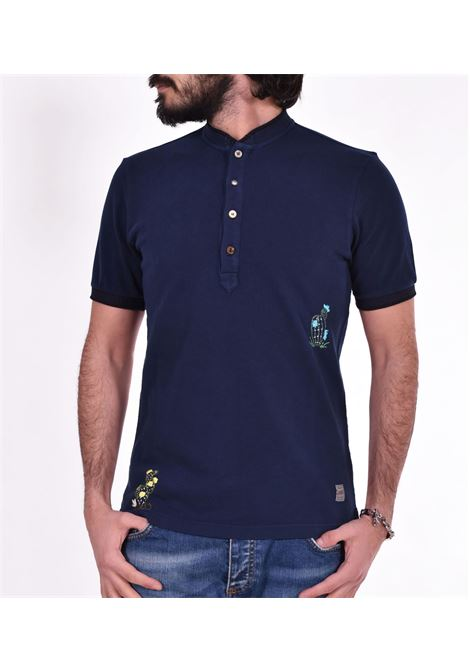 Rigel blue Korean BoB polo shirt BOB | polo | RIGEL10