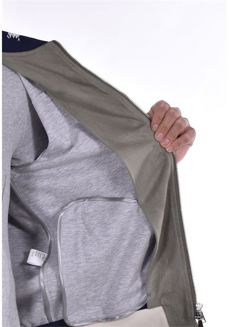 Bob suede jacket in sage style BOB   Jackets   STYLE3401