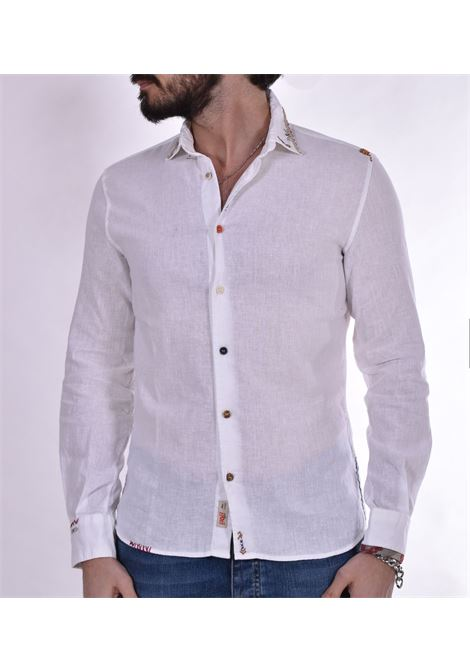 Camicia BoB lino tutor bianca BOB | Camicie | TUTOR10