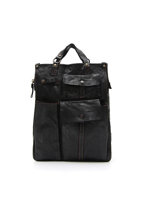 Campomaggi tokio high work bag black CAMPOMAGGI | Bags | C014520NDC0001